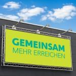 Werbebanner Mesh Banner Karlsruhe